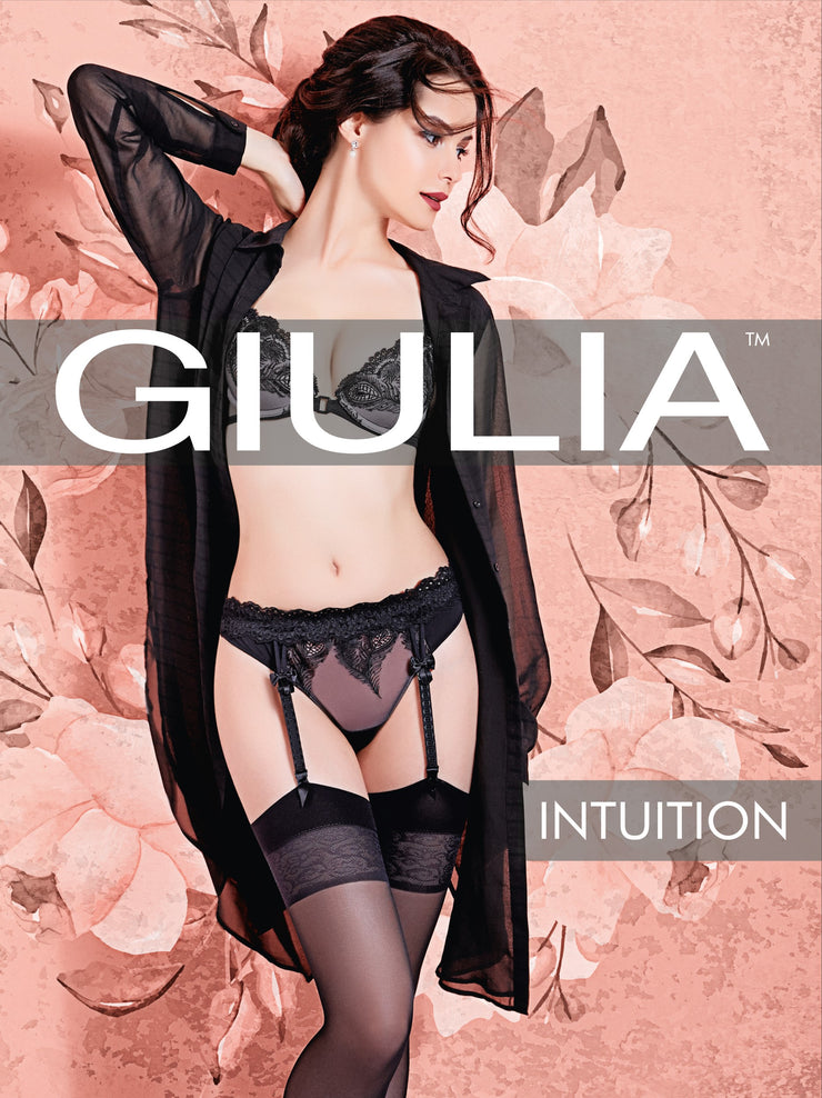 Intuition Model 1 Sheer Stockings 20 Denier