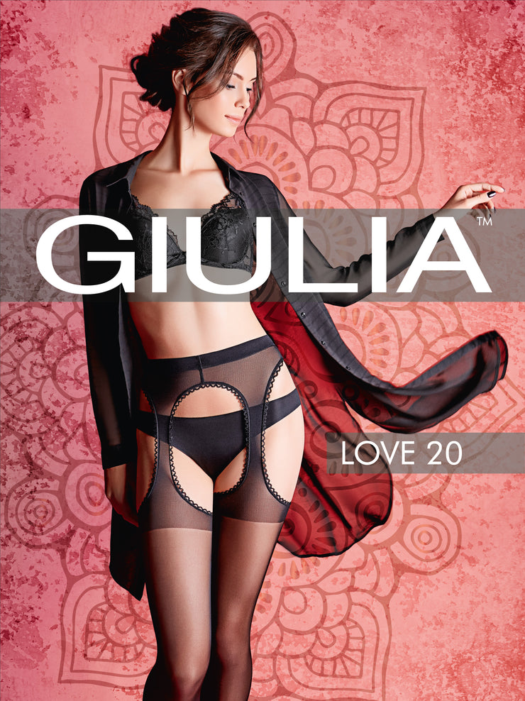 Love Model 1 Strip Panty Tights