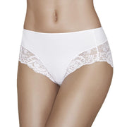Janira Niki Greta Microfiber Lace Knickers In Black or Nude or White