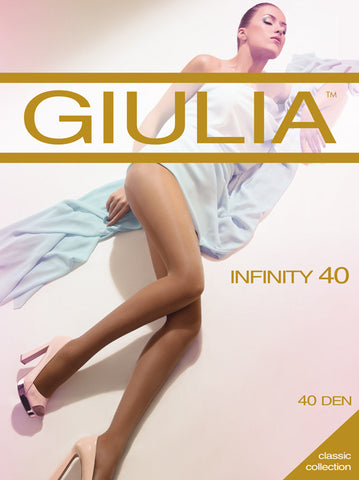 Giulia Inifinity 40 Denier Sheer Tights