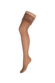 Fiore Milena Sheer Lace Top Hold-ups 20 Denier