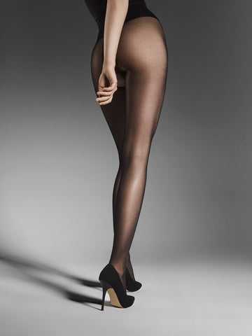 Fiore Ouvert Open Gusset 20 Denier Sheer Tights
