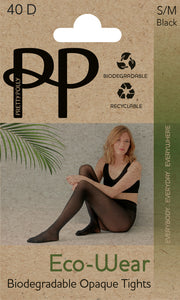 Eco-Wear Opaque Tights 40 Denier Sustainable Biodegradable