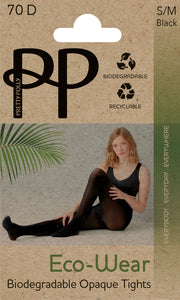 Eco-Wear Opaque Tights 70 Denier Sustainable Biodegradable