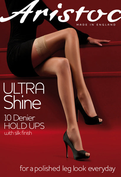 Aristoc Ultra Shine Gloss Hold Ups 10 Denier