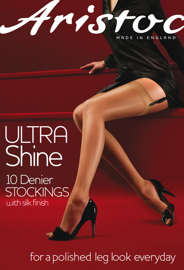 Aristoc 10 Denier Ultra Shine Gloss Stockings