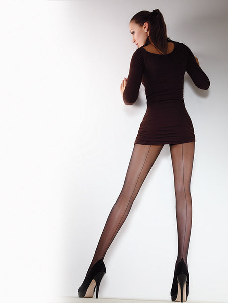 Giulia Chic 20 Denier Sheer Tights with Fine Back Seam