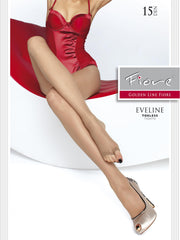 Fiore Eveline Open toe Tights 15 Denier