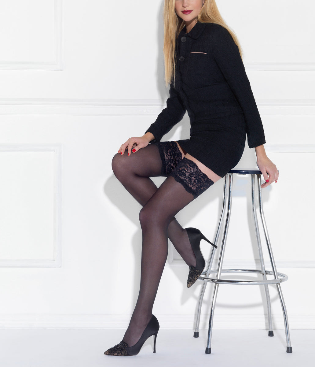 Le Bourget Hold Ups and Tights at Mayfair Stockings : Hold