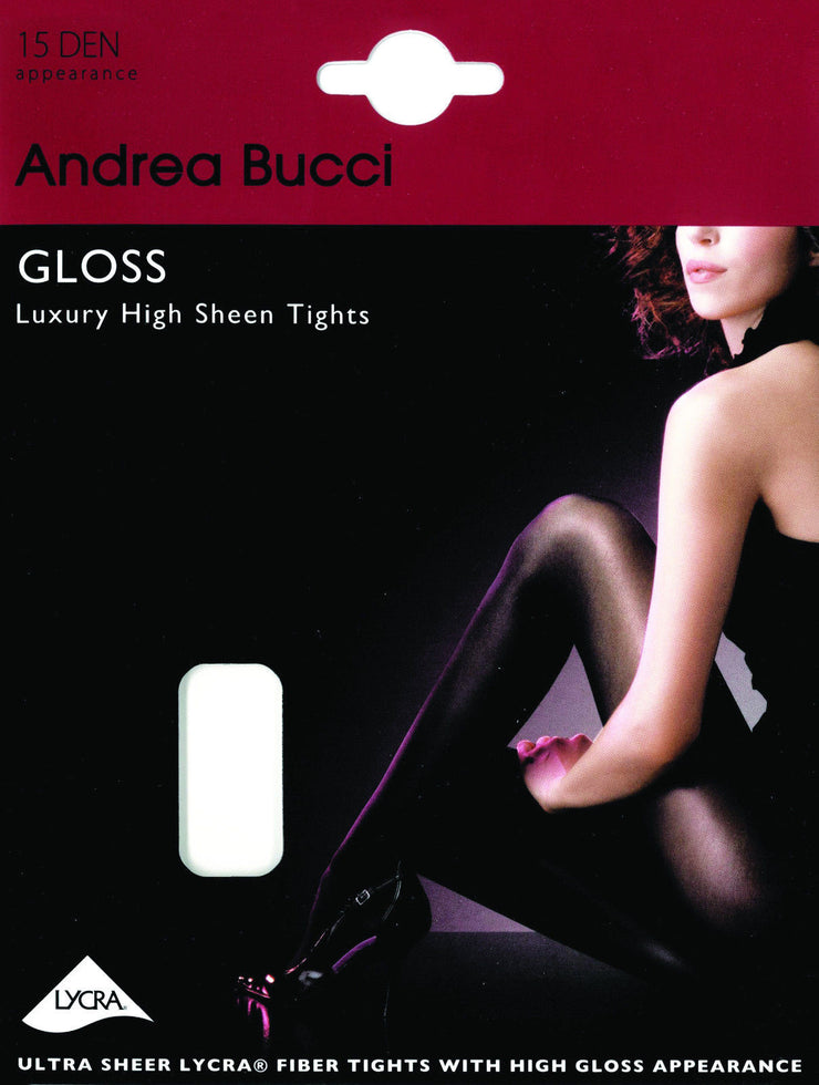 Andrea Bucci Luxury Gloss High Sheen Tights 15 Denier