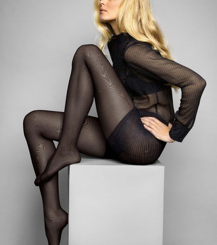 Le Bourget Heritage Collant Luxe Affinant 50 Denier Tights Control Shaping Brief
