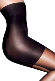 Aristoc Bodytoners Hourglass Shape High Waist Tights 10 Denier Satin Shine Leg