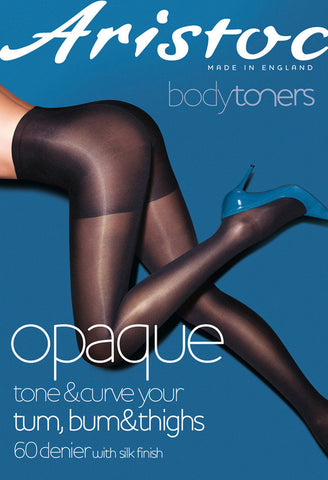 Aristoc Bodytoners Opaque Toner Tights Tone & Curve Tum,Bum & Thighs 60 Denier