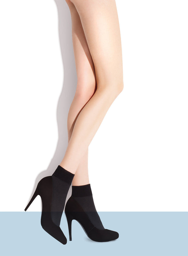 Fiore Ria Ankle High Socks 60 Denier Opaque Microfibre