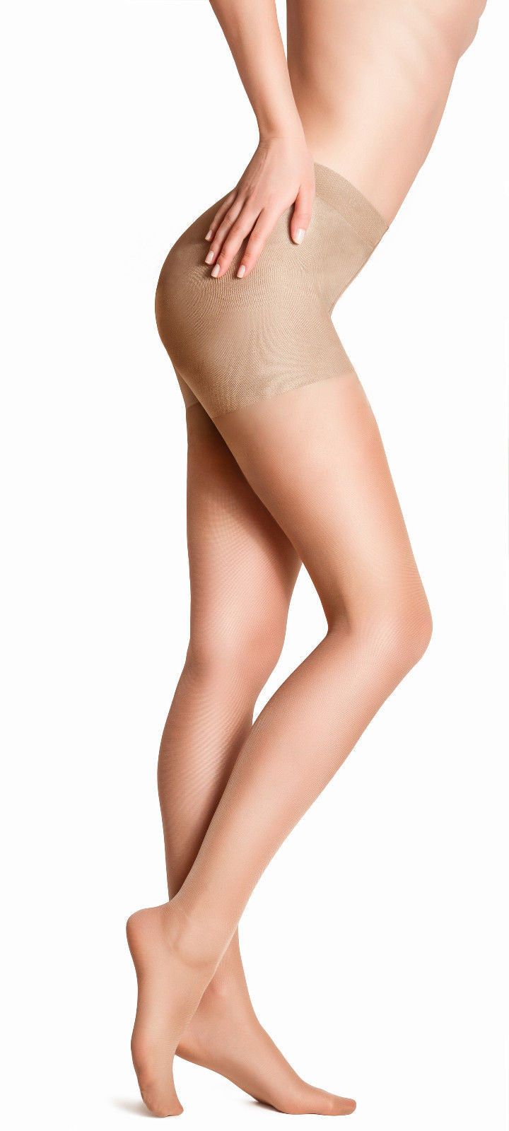 MC By Marie Claire Bodytoner Satin Sheen Tights 15 Denier Control Top Tights