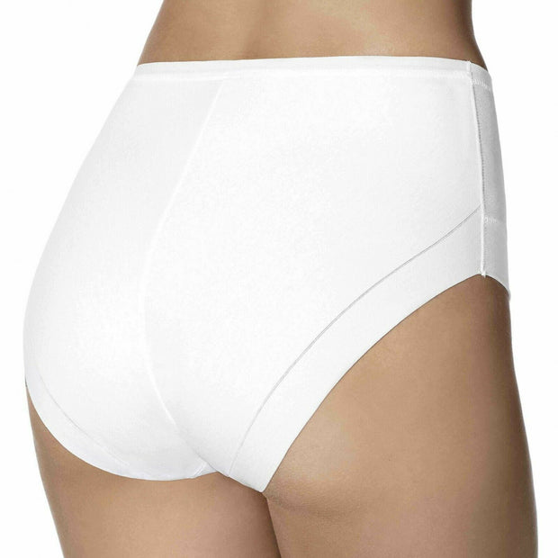 Janira Slip Cotton Band Knickers In Black or Nude or White