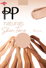 Pretty Polly Naturals Skin Tones Sheer Tights 8 Denier