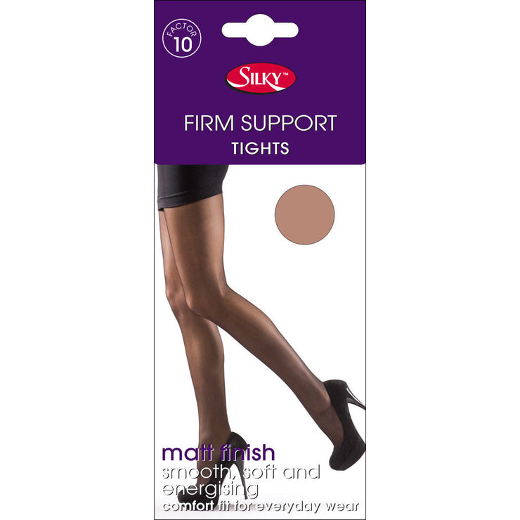 Silky Firm Support 20 Denier Tights Factor 10 To Size XL 3 Colour Selection