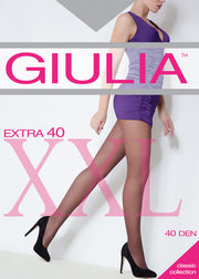 Extra 40 Denier Plus Size Tights Fuller Figure Pantyhose