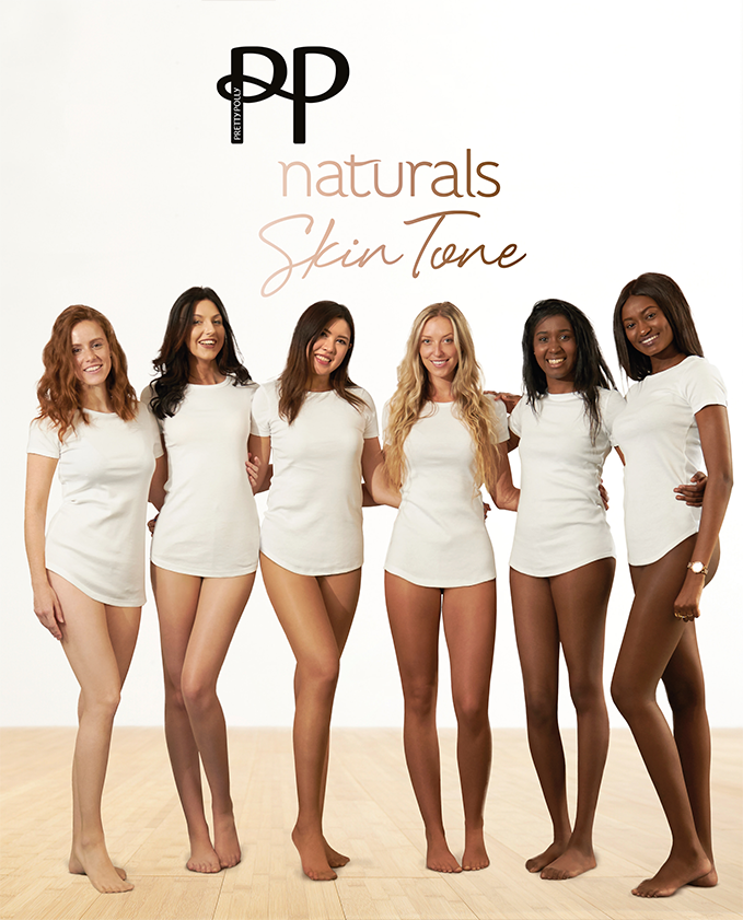 49a4db1303378 Pretty Polly Naturals Skin Tones Sheer Tights 8 Denier - 6 shades to s –  Simply Hosiery Online