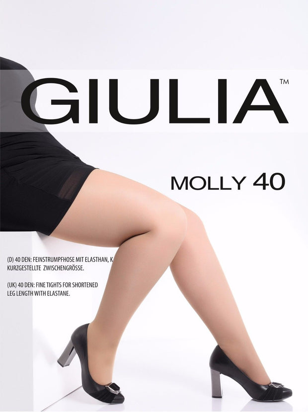 Giulia Molly 40 Denier Plus Size Curves Tights