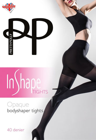 Pretty Polly In Shape Opaque Bodyshaper Tights 40 Denier
