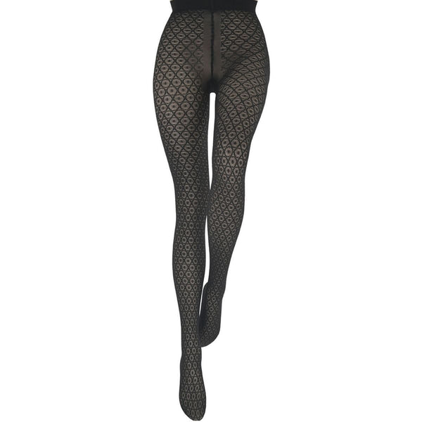 Le Bourget Heritage Collant Luxe Dentelle 40 Denier STW Lace Patterned Tights