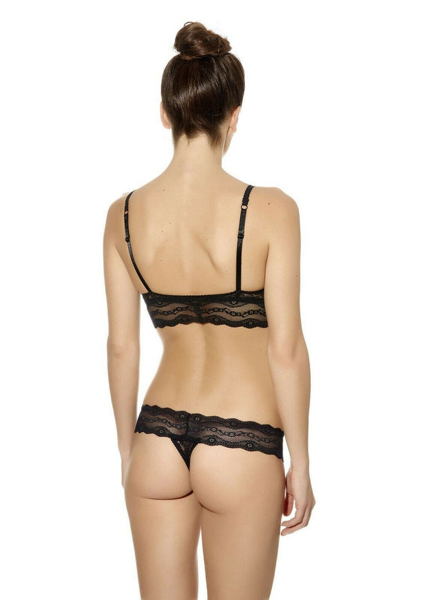 B.Tempt'd Lace Kiss Lace Thong