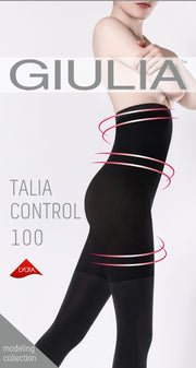 Talia Control High Waist 100 Denier Opaque Tights