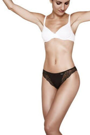 Janira Neri Essentials Lace Briefs 2 Pair Pack Black, White or Nude
