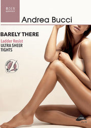 Andrea Bucci Barely There Ladder Resist Ultra Sheer Tights 8 Denier Bikini Brief