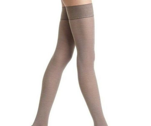 Trasparenze Jennifer 100 Denier Plain WOOL Hold Ups 70% Woo