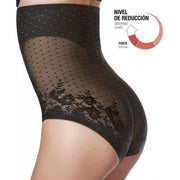 Janira Secrets Figure High Wasted Tummy Control in Knickers Black or Nacar