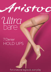 Aristoc Ultra Bare 7 Denier Hold Ups Made with Sideria® Yarn
