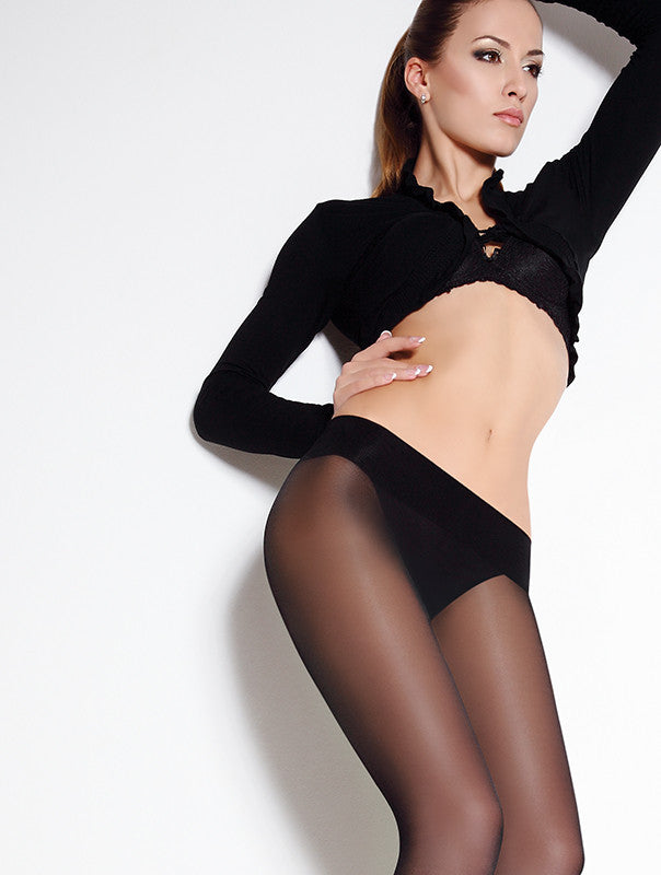 Giulia Sensi Vita Bassa 40 Denier Sheer To Waist Hipster Tights