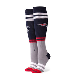 Stance Pipe Bomb Patriots Knee High Socks