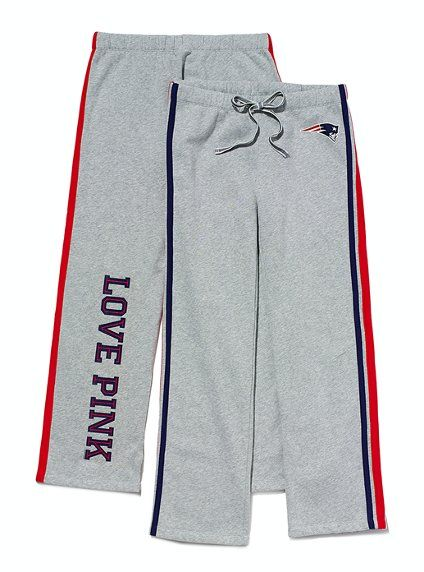 Victoria's Secret PINK Patriots Sweatpants - Grey