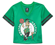 Load image into Gallery viewer, Forever 21 Celtics Crop Top Jersey Tee - Green