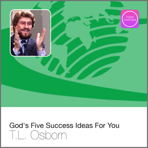 God's 5 Success Ideas For You - Digital Audio