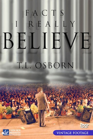 Facts I Really Believe - DVD