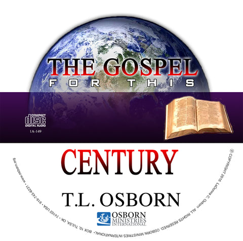 Copy of The Gospel For This Century - Audio CD