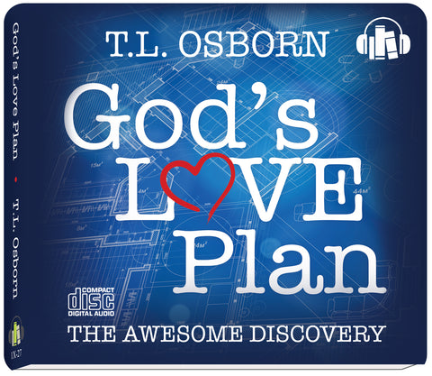 God's Love Plan - Audio Book on CD (4)