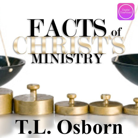 Facts of Christ's Ministry - Digital Download