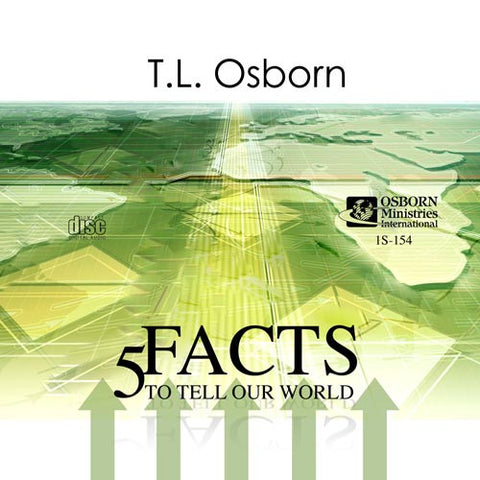 5 Facts To Tell Our World - Audio CD