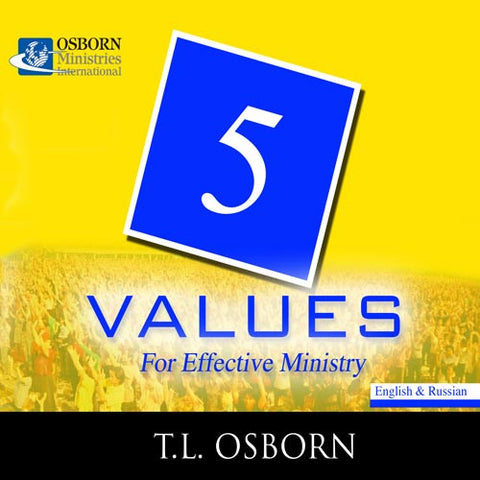 5 Values for Effective Ministry
