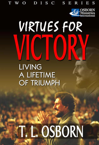 Virtues for Victory - Living a lifetime of Triumph - DVD or CD (2)