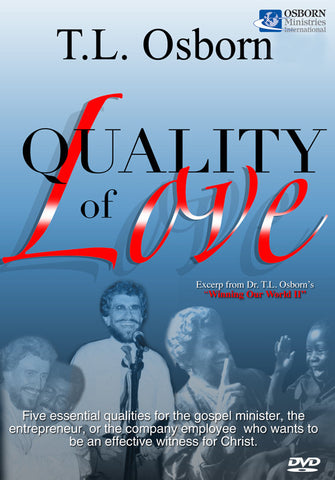 Quality of Love - Complete Set of Two DVDs