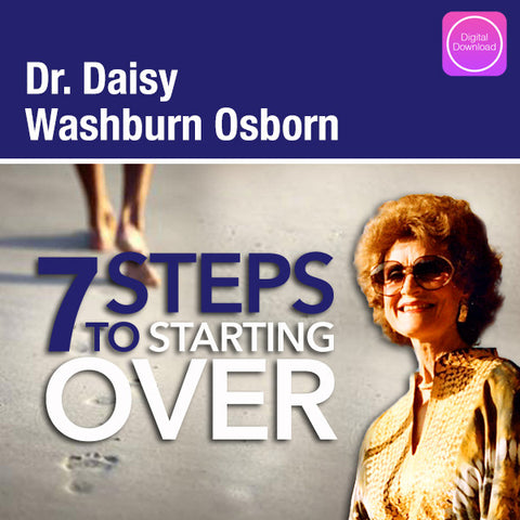 7 Steps To Starting Over - Digital Download