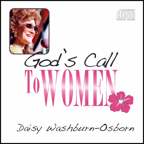 God's Call to Women - CD (1)