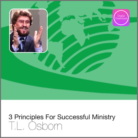 3 Principles For Successful Ministry - Digital Audio